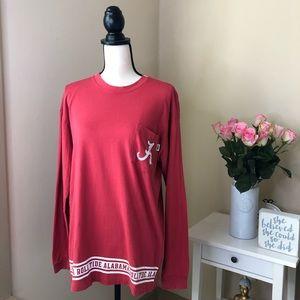 PINK Victoria's Secret Red Alabama Roll Tide Shirt